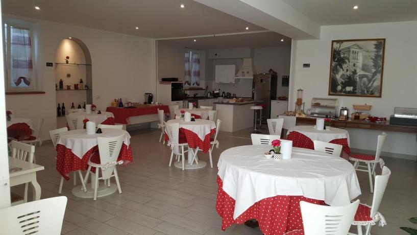 Sala Colazione B&B in Umbria