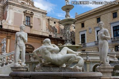 Piazza Pretoria di Palermo