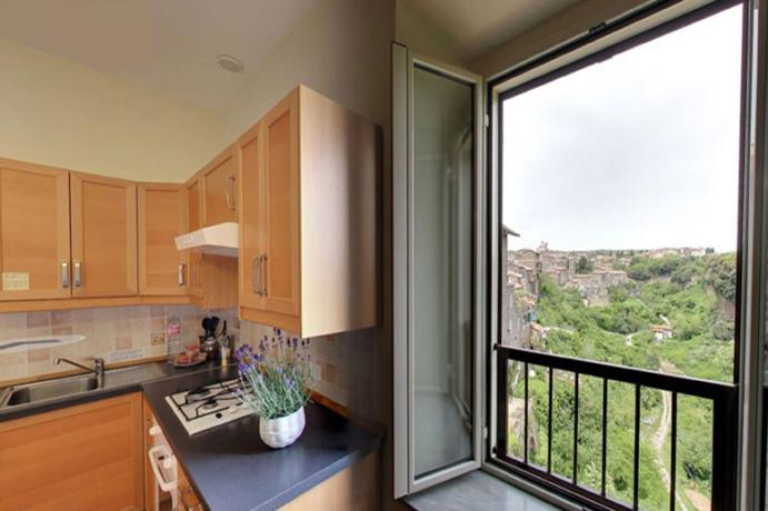 Appartamento trilocale residence a Ronciglione