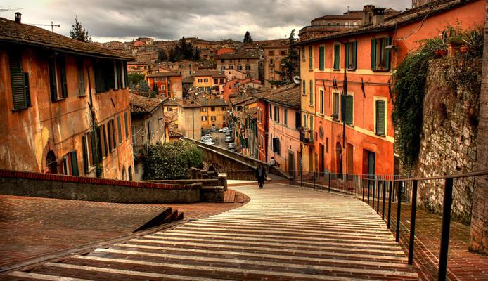 Weekend Travelling in Perugia