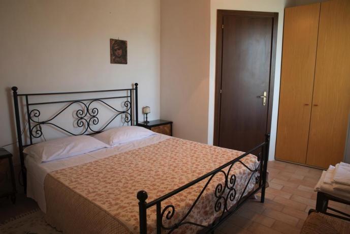 Camera da Letto Caiolo appartamenti in Umbria