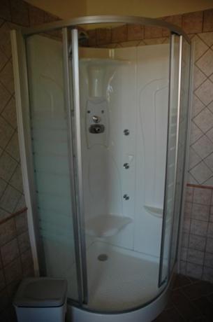 Bagno privato in camera al Relais Marmore