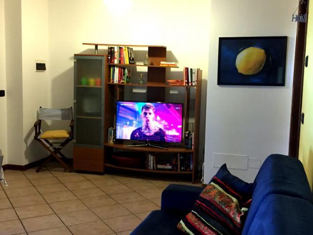 Divano letto in Soggiorno con Led Tv Samsung