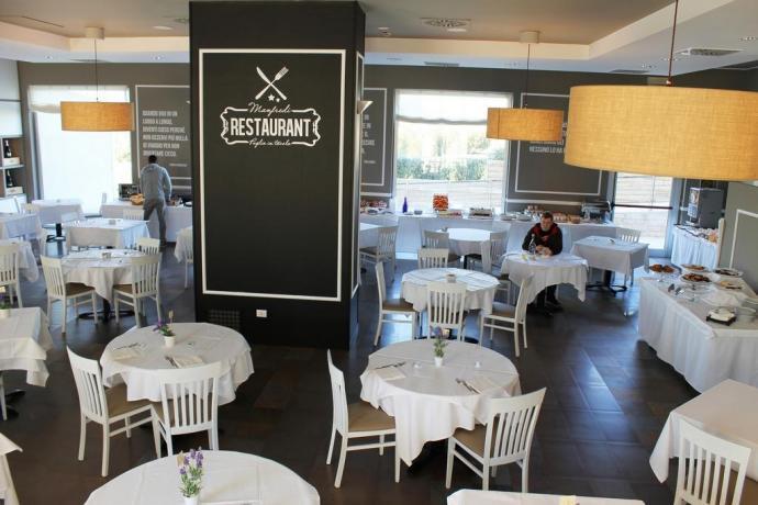 Ristorante d'eccellenza hotel4stelle Manfredonia