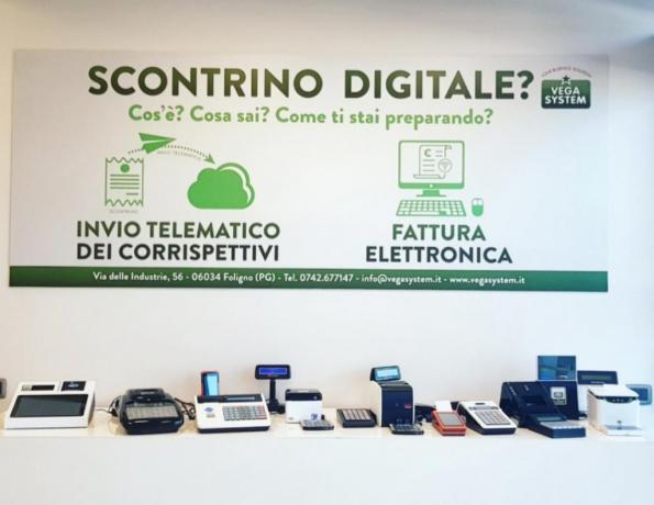 Scontrino Elettronico e Telematico, Vega System Foligno