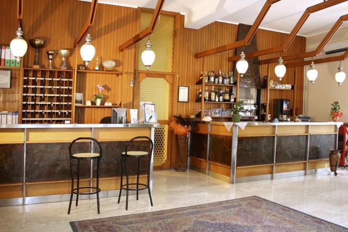 Bar nell'Hotel in Abruzzo
