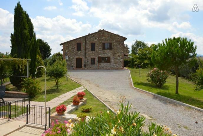 Casale per 13 persone vicino Orvieto