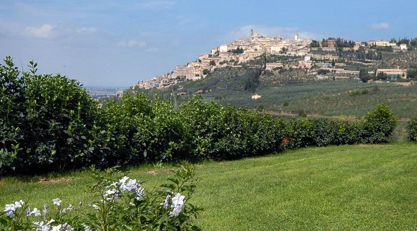 Agriturismo in borgo medievale in Umbria