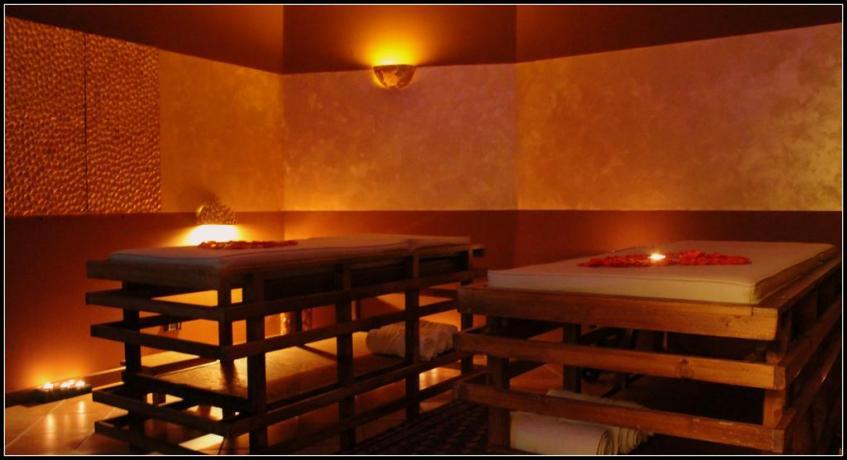 Albergo La Terra del Sole, area massaggi relax