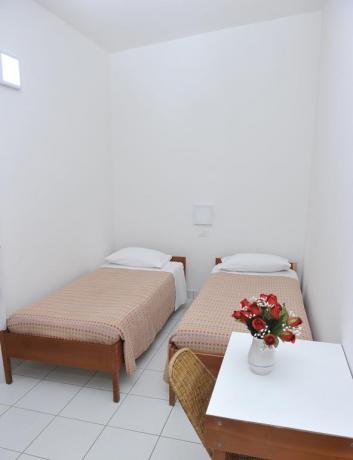Resort Baia Domizia appartamenti con letti singoli