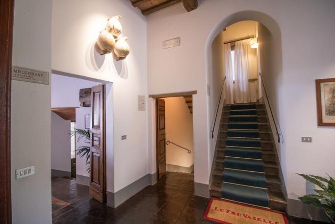 Entrata Ristorante Resort Le Tre Vaselle
