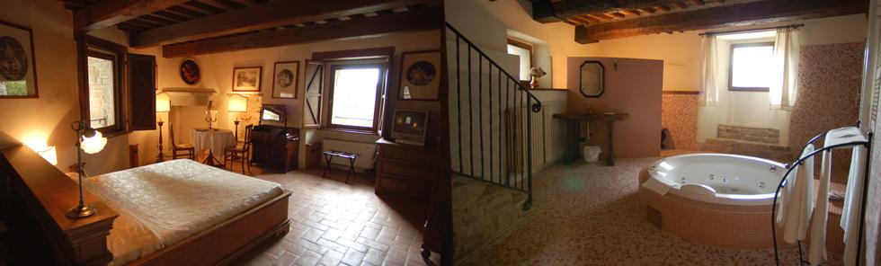 Castello con Camera Deluxe a Gubbio