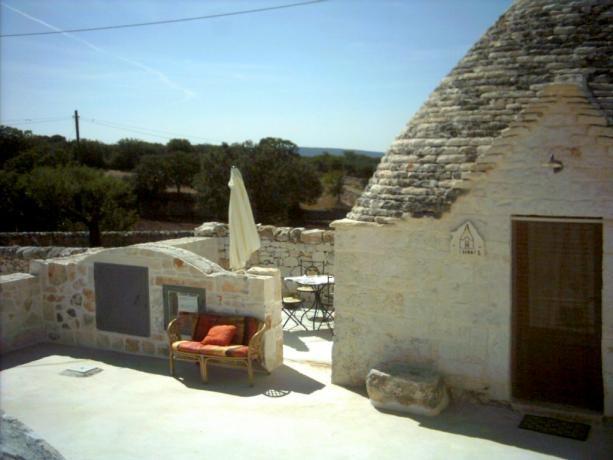 Trullo I Serri con Solarium, Alberobello