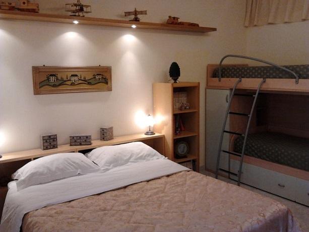 Camera da letto ad Amalfi