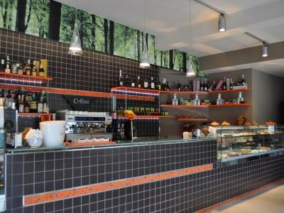 Bar dell'albergo vicino allo stadio di Perugia