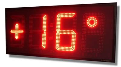 orologi elettronici termometro led per esterni