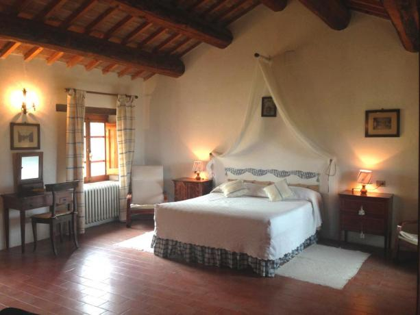 Double bedroom in Scoccia House