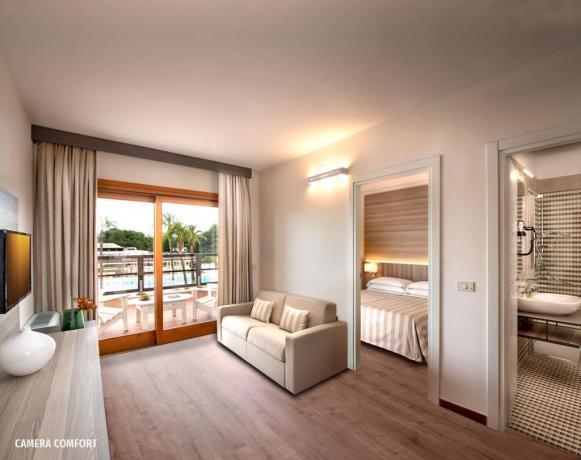 Camera di Lusso con Bagno Privato in Villaggio