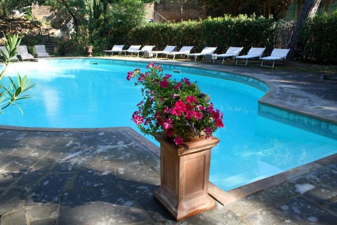 Appartamenti e piscina in Toscana vicino Chianciano