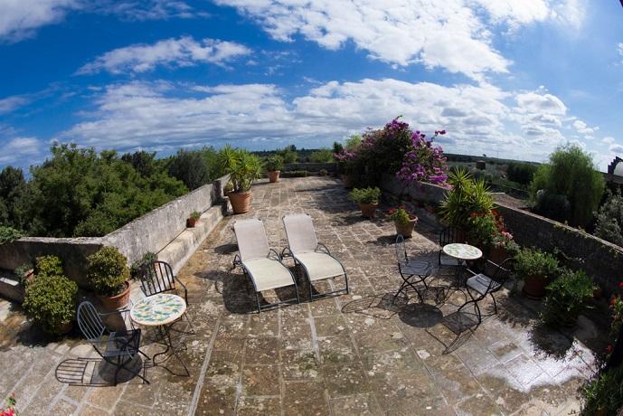 Masseria con Solarium in Puglia