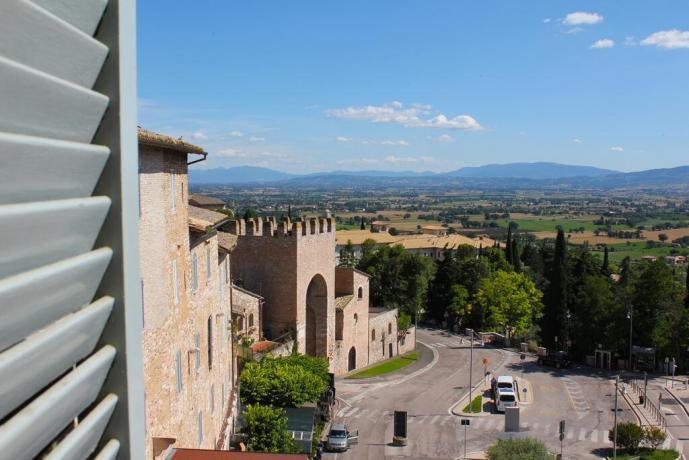 Hotel 3stelle con vista panoramica Umbria Assisi centro