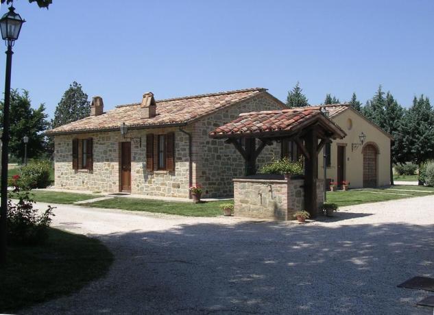 Appartamenti vacanze con giardino vicino Bastia Umbra