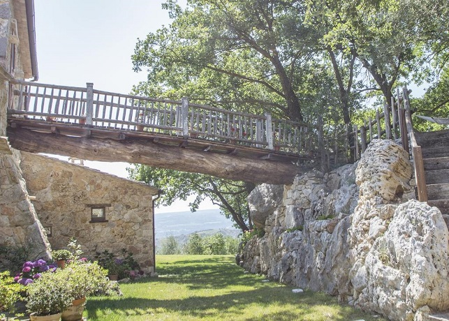 Lusso in vacanza in Umbria