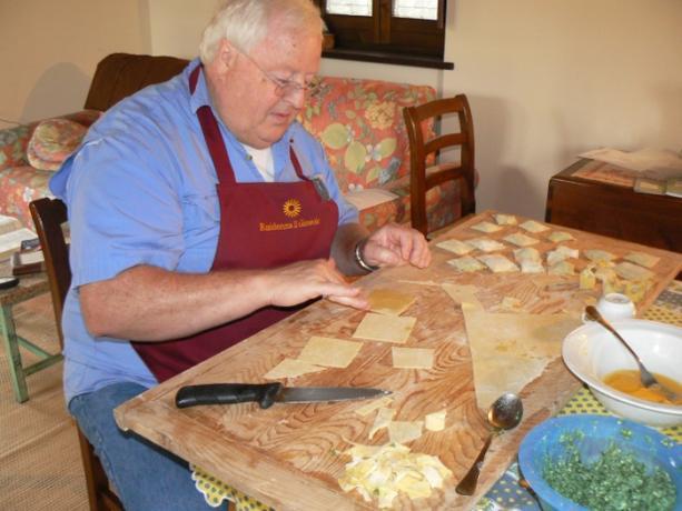 Corso di Cucina tipica Umbra: I Tortellini