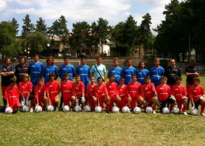 Ritiri estate in Umbria squadre di Calcio