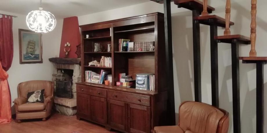 Villa esclusiva 6persone con libreria e poltrone Collodi