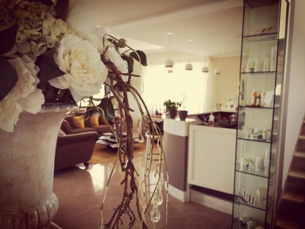 Ingresso reception hotel Cilento Ascea