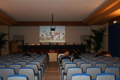 Sala congressi del Villaggio vicino Lecce