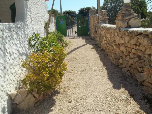 Villaggio a Lampedusa vicino al Mare