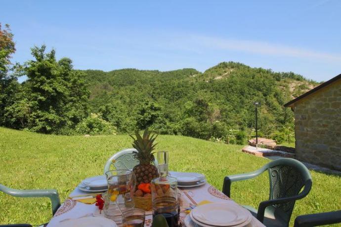 Giardino attrezzato Bilo Rossa appartementi vacanza Urbino
