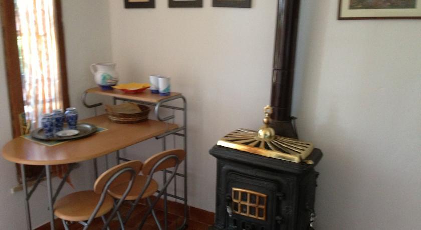 stufa a legna appartamento Gongolo Terni Umbria