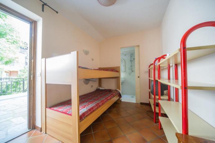 Appartameto-vacanze Bilocale-castello B1 con letto-a-castello Bardonecchia