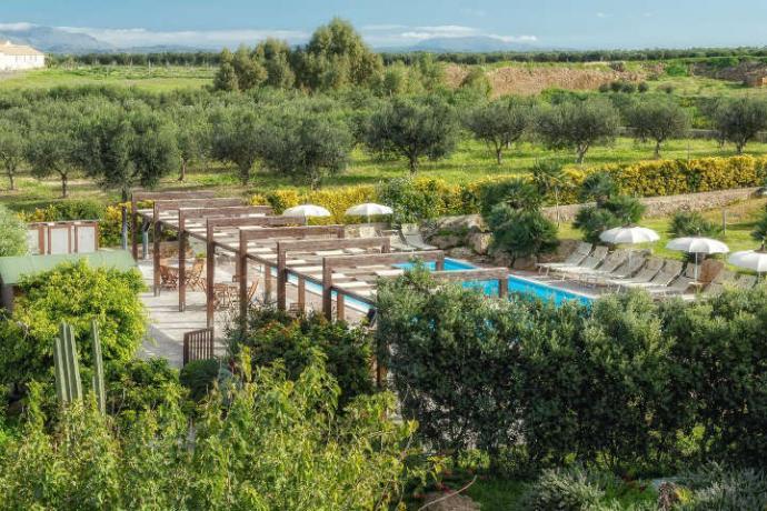 Agriturismo con piscina e spa Trapani