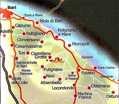 Visitare Castellana Grotte e dintorni