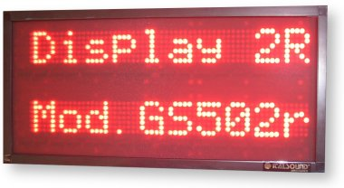 Display a led multiriga per Negozio