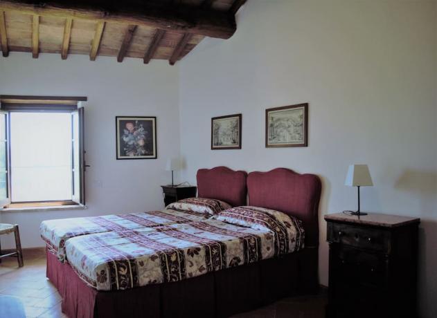 Dependance stanza matrimoniale borgo Gualdo Cattaneo