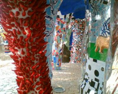 Visit the Tarot park Giardino dei Tarocchi