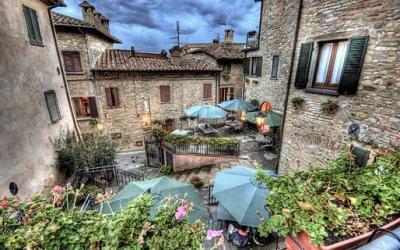centro storico di Montone