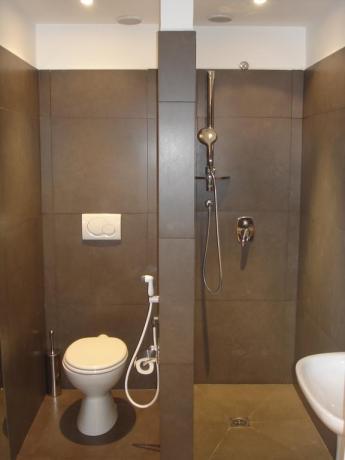 Bagno camera in Hotel a Labro di Rieti