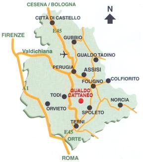 posizione centrale in Umbria, prezzi bassi