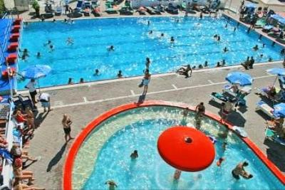 Pool for Adults and for Children in Riccione