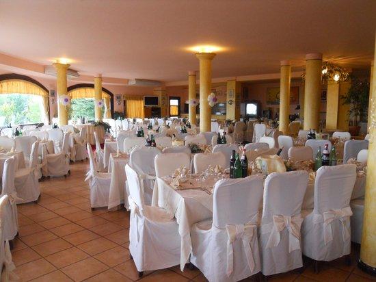 Sala ristorante del Resort