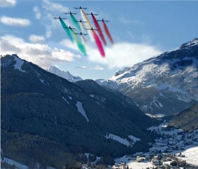 Alpine skiing world cup in La Villa