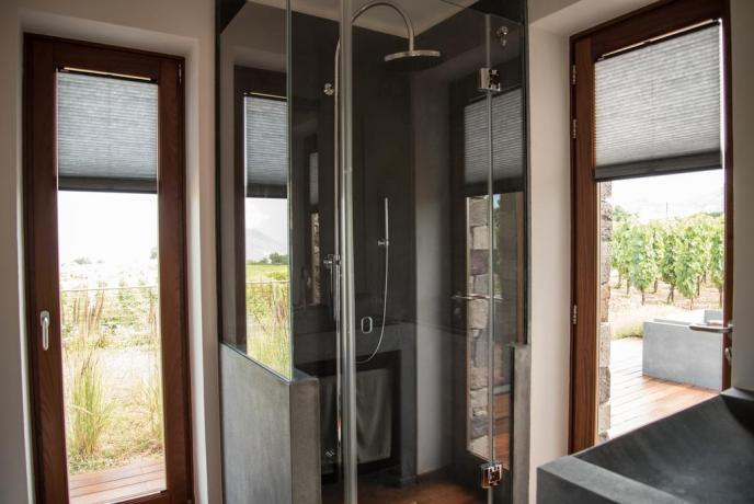 Casa vacanza Lipari con doccia set cortesia Sicilia