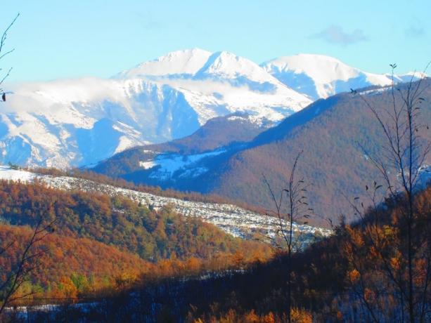 Agriturismo Casale della Quiete Vista sui monti