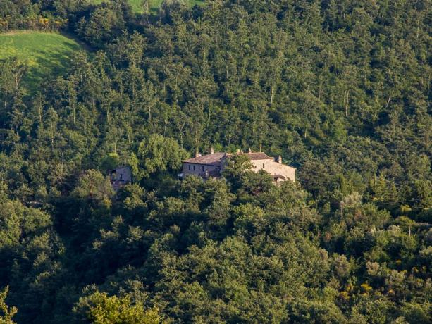 Agriturismo Umbria adatto a famiglia nel verde